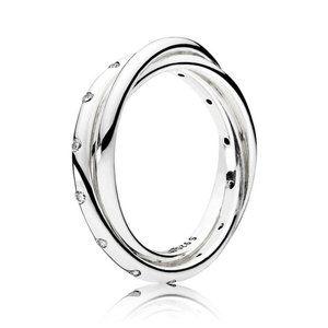 Pandora Swirling Symmetry Ring